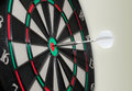 Bullseye electronic Dartboard Royalty Free Stock Photo