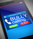 Bullying concept. Royalty Free Stock Photo