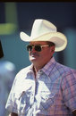 Bum phillips houston oilers head coach image taken from slide Stock Photos