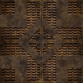 Bumped manhole cover (Seamless texture) Royalty Free Stock Image