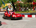 Bumper car Royalty Free Stock Image