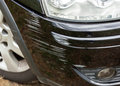 Bumper car scratched