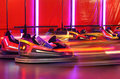 Bumper cars Royalty Free Stock Photo