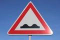 Bumpy road Royalty Free Stock Photo