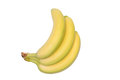 Bunch banana isolated Royalty Free Stock Photo