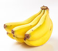 Bunch of bananas isolated in the canary islands Royalty Free Stock Image