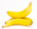 Bunch of bananas isolated in the canary islands Royalty Free Stock Photography