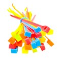 Bunch of cable ties Stock Images