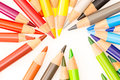 Bunch of colorful pencils Royalty Free Stock Photo