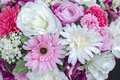 Bunch of flowers beautiful bouquet bright Stock Photography