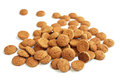 Bunch of ginger nuts Stock Image