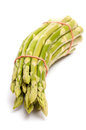 Bunch of green asparagus Royalty Free Stock Photography