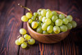 Bunch of green ripe grapes Royalty Free Stock Photo