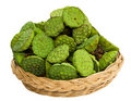 Bunch of lotus seeds Stock Image