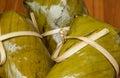 Bunch of mush banana in thailand Stock Photography