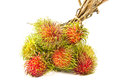 A Bunch Of Ripe Rambutan Royalty Free Stock Photo
