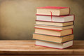 Bunch of vintage books Royalty Free Stock Photography