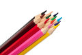 Bunch Of Wooden Colored Pencil...