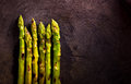 Bunches of asparagus Royalty Free Stock Photo