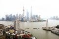 The Bund, Shanghai Royalty Free Stock Photo