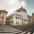 The bund streetscape Royalty Free Stock Photography