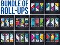 Bundel of Roll up design,