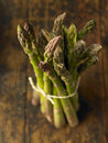 Bundle of asparagus Royalty Free Stock Photo