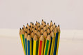 Bundle pencils Royalty Free Stock Photo