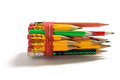 Bundle of Pencils Royalty Free Stock Photo