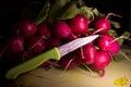 Bundle radishes