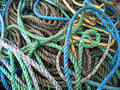 Bundle of ropes Royalty Free Stock Photos