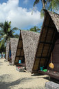 Bungalow at koh samui thailand used natural material Stock Photography