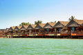 Bungalows in el gouna egypt resort Stock Image