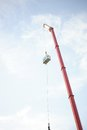 Bungee jump Royalty Free Stock Photo