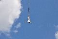 Bungee jumping Royalty Free Stock Photo
