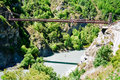 Bungy Jumping, New Zealand Royalty Free Stock Photo