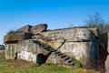 Bunker from the first world war of the osowiec fortress in poland russian fort ii Stock Photography