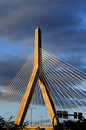 Bunker-Hügel-Brücke in Boston Stockfotos