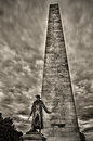 The Bunker Hill Monument Royalty Free Stock Image