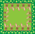 Bunny background Royalty Free Stock Images