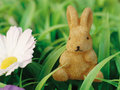 Bunny figurine Royalty Free Stock Images