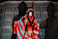 Bunraku japanese puppet play kyoto japan november in kyoto japan on november developed over twelve centuries as a poppular Royalty Free Stock Photography