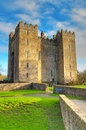 Bunratty castle co clare ireland Stock Photos