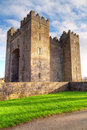 Bunratty castle in Ireland Royalty Free Stock Photo