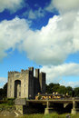 Bunratty slott clare co ireland Royaltyfria Foton