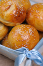 Buns with sesame seeds Royalty Free Stock Photo