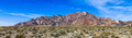 Bunte berge in death valley Stockbilder