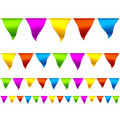 Bunting flags Stock Photos