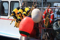 Buoys and Floats Royalty Free Stock Photo