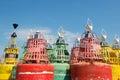 Buoys for the sea Royalty Free Stock Photo